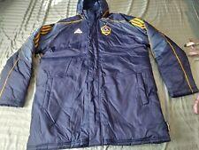 ADIDAS climawarm LA Galaxy Soccer players Coach Bench Sideline parka Jacket  XL
