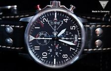 New Junkers Eurofighter Ltd Edition Automatic Watch SwissETA Valjoux 7750 6826-5