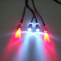 NEW RC On-Road Car LED Lights 5mm White And 3mm Red Headlamps Light Lamps