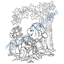 New Stampavie LITTLE RASCALS Penny Johnson Clear Stamps Bear Children
