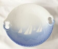Bing and Grandahl Yachts Sailing Platter - Royal Copenhagen Bowl - Boats