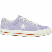 CONVERSE ONE STAR OX Suede Trainers, Washed Lilac/Egret, UK 6 RRP £65