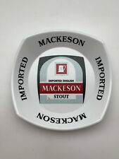 Vintage Mackeson Imported English Stout Ash Tray 70s Bar Rare Beer Advertising 2