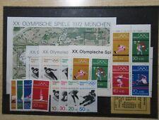 S197/222 OLYMPIA Lot Bund BRD 1968-1972 xx