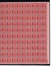 US MINT SHEET SCOTT#823,18C STAMP ULYSSES S. GRANT  SHEET OF 100 MNH OG