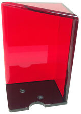 DISCARD TRAY - NEW CASINO BLACKJACK DEALER RED 8-DECK WITH TOP - FREE SHIPPING *