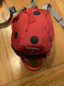 LittleLife Ladybird Toddler Hooded Backpack with Rein