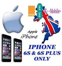 iphone EE / Orange / T-Mobile UK iPhone 6S & 6S+ Plus Unlocking Code Express