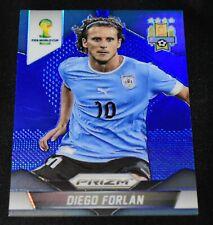 2014 Panini Prizm WC Cup #192 Diego Forlan Blue Prizm /199 Uruguay