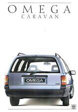 Prospetto/brochure OPEL Omega Caravan 11/1986