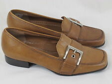 Naturalizer Brown Leather Loafer Shoes Size 5.5 M US Excellent Condition