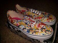 Vans x Disney Multi Princess Print Cinderella/Ariel/Belle Mens 10 Womens 11.5