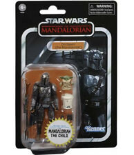 Din Djarin (The Mandalorian) and Child-Star Wars Vintage Collection In Hand Mib