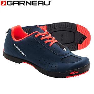 Louis Garneau Urban Womens Cycling Shoes - Dark Night/Coral - Size 38 EU / 7 US