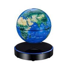 "6"" Magnetic Levitation Floating Globe LED Office Desktop Educational Decor Gift"