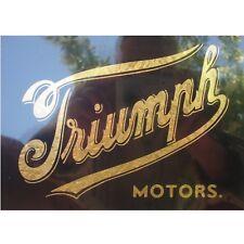 Aufkleber Sticker Triumph 1902 vintage #0567