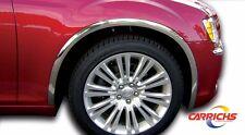 FTCR211 2011-2014 Chrysler 300/300C Super POLISHED Stainless Steel Fender Trim