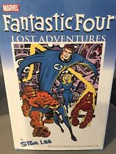 Stan Lee Autographed Ff Lost Adventures Captain America War & Remembrance Hc