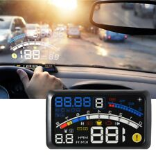 Universal 5.5inch HD OBD2 Car GPS HUD Head Up Display Overspeed Warning System