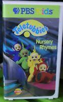 Teletubbies VHS Tape Nursery Rhymes PBS Kids