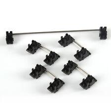 Plate mounted Black Cherry OEM Stabilizers Clear Satellite Axis 7u 6.25u 2u 6u