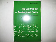 Oral Tradition Classical Arabic Poetry Zwettler History Arabian Poems Literature