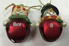 Ganz Jingle Bell Snowman Name Ornament- Other Names/ Phrases