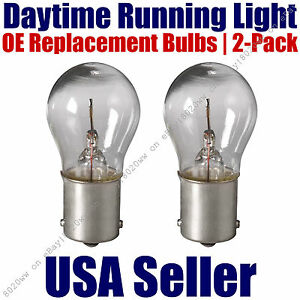 Daytime Running Light Bulbs 2pk OE Replacement On Listed VW Volkswagen - 7506