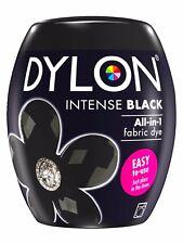 Dylon peinture de Textile Intense Noir couleur & Fixateur pour 600g Tissu Fabric