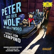 Peter e il lupo a Hollywood CD NUOVO Prokofieff, Serghei