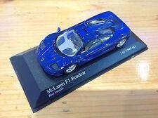 Minichamps Model Car, Diecast Model, McLaren F1 GTR Road Car Ltd, Racing Car