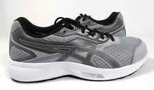 ASICS Men's Stormer Running Shoes Midgrey/Black/Carbon Size 9