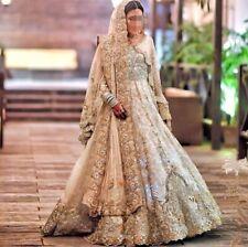 Latest Indian pakistani designer royal wedding gown best reception dress ever