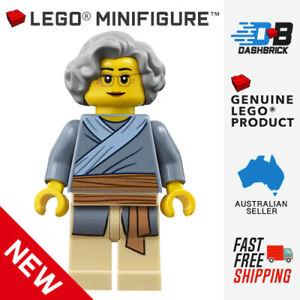 Genuine LEGO® Minifigures - Grandmother Minifigure (Grandma, Female) - NEW