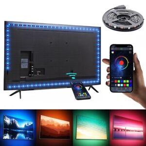 1M RGB LED Strip Lights TV Backlight Lamp Decoration USB APP Control