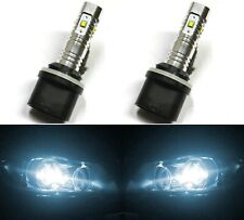 LED 30W 893 H27 White 6000K Two Bulbs Fog Light Replacement Upgrade Lamp OE