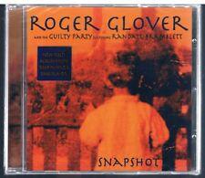 ROGER GLOVER SNAPSHOT DEEP PURPLE CD  SIGILLATO!!!