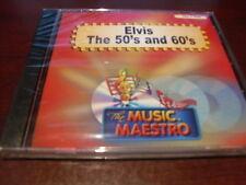 MUSIC MAESTRO KARAOKE 6305 ELVIS PRESLEY THE 50'S & 60'S CD+G OOP SEALED