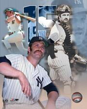 THURMAN MUNSON ~ 8x10 Color Photo Picture Collage ~ New York Yankees