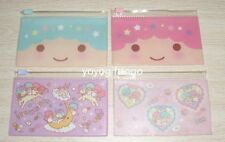2014 Japan Little Twin Stars card holder coin bag PVC zipper pocket set of 4