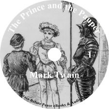 The Prince & The Pauper Mark Twain Classic Audiobook on 1 MP3 CD Free Shipping