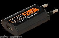 230V Ladegerät / USB Netzteil Netzstecker 1000mA für Handy iPhone MP3-Player