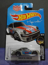 2017 HOT WHEELS PORSCHE 934 TURBO RSR HW NIGHT BURNERZ Long Card, New C Case
