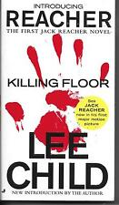 LEE CHILD  Killing Floor  paperback book  JACK REACHER No. 1