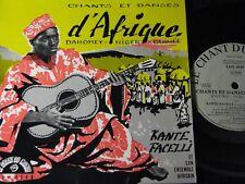 Arête FACELLI et son ensemble africain.../FRENCH SP LE CHANT DU MONDE ldy-4049