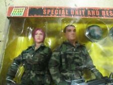 Power Team Elite TAG TEAM - Special Unit And Rescue Service Military Set - 1:6