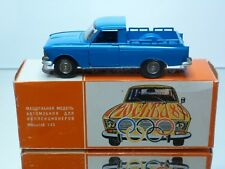 CCCP USSR A19 NOVOEXPORT MOSKVITCH PICKUP - OLYMPIC GAMES MOSKOU 1980 - 1:43