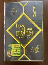 NEW Sealed How I Met Your Mother: The Whole Story Seasons 1-9 With Extras!!