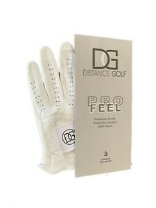 3 pack - Cabretta Golf Glove, Right Handed golfer - Sizes: S, M, L and XL