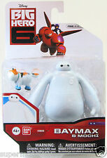 "BANDAI BIG HERO 6 BAYMAX 4"" ACTION FIGURE & MOCHI 2pcs SET"
